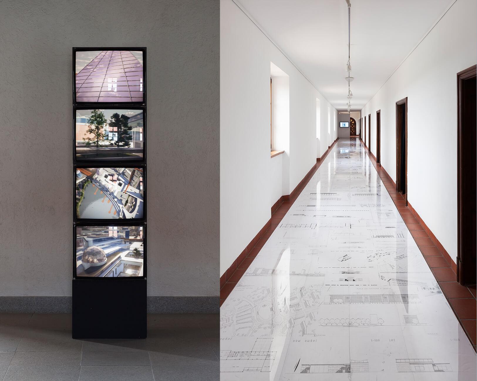 Architektura výstavy Nechtěné dědictví